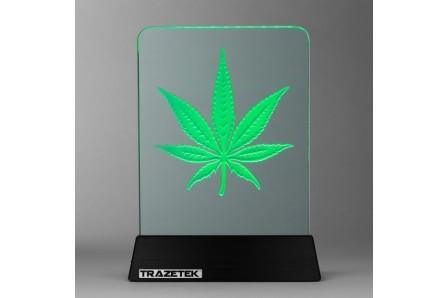 Weed Leaf Light